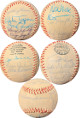1973 St. Louis Cardinals Team Signed OFC League Baseball 19 sigs – Lou Brock/Joe Torre/Red Schoendienst/Tim McCarver