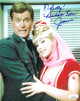 Barbara Eden signed I Dream of Jeannie 8x10 Photo w/ Jeannie & To Betty!- JSA Hologram #DD90929 (w/ Larry Hagman)