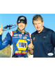 Chase Elliott signed NASCAR NAPA Auto Parts 8x10 Photo- JSA Hologram #DD64512 (w/ Bill Elliott)