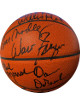 1973 NY Knicks World Champs signed Spalding OFC Leather Game Basketball 6 sigs w/Dave DeBusschere/Red Holzman-JSA LOA #BB18776