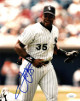 Frank Thomas signed Chicago White Sox Color 8X10 Photo- JSA Hologram #DD64587