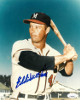 Eddie Mathews signed Milwaukee Braves 8x10 Photo (deceased)- JSA Hologram #DD64586