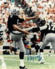 Ray Guy signed Oakland Raiders 8x10 Photo #8