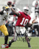 Troy Smith signed Ohio State Buckeyes 8x10 Photo HT 06 (Heisman- red jersey)