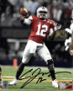 Cardale Jones signed Ohio State Buckeyes 8x10 Photo #12- Jones CJ12 Hologram