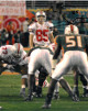 Mike Nugent signed Ohio State Buckeyes Tostitos Fiesta Bowl 8x10 Photo #85 (signed on right)