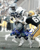 "Ed ""Too Tall"" Jones signed Dallas Cowboys 8x10 Photo #72 (vs Packers)"