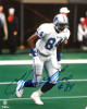 Herman Moore signed Detroit Lions 8x10 Photo #84 (white jersey)