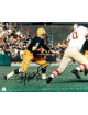 Paul Hornung signed Green Bay Packers 8x10 Photo minor corner ding (horizontal run)