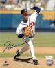 Tom Glavine signed Atlanta Braves 8x10 Photo- JSA Witnessed Hologram