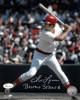 Fred Lynn signed Boston Red Sox 8x10 Photo Boston Strong- JSA Witnessed Hologram