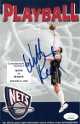 Willis Reed signed 1997-98 New Jersey Nets Playball Program vs Orlando Magic 1/8/98- JSA Hologram #EE41597