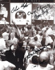 Eugene Kranz signed Apollo 11 Flight Director 8x10 Photo w/ 4 sigs Christopher Kraft/Glynn Lunney/Gerald Griffin- JSA #DD64696