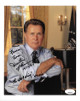 Martin Sheen signed 8x10 Photo The West Wing 99-06, To Frances Peace! 10/16/07- JSA Hologram #DD64745 (President Josiah Bartlet)