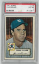 Hank Bauer New York Yankees 1952 Topps Baseball Card #215- PSA Graded 4 Very Good- Excellent