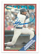Andre Dawson signed Chicago Cubs 1988 Topps Baseball Card #500- JSA Hologram #DD64769