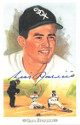 Luis Aparicio signed 1989 Chicago White Sox Perez-Steele Celebration Postcard (photo) #2- JSA Hologram #DD64319