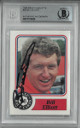 Bill Elliott signed NASCAR 1988 Maxx Charlotte Card #50- Beckett BAS #00011514620