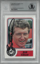 Bill Elliott signed NASCAR 1988 Maxx Charlotte Card #50- Beckett BAS #00011514619