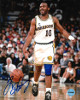 Tim Hardaway signed Golden State Warriors 8x10 Photo (white jersey)