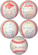 1996 World Series NY Yankees Team signed Official Rawlings WS Baseball 23 sigs –JSA#BB18789 Tim Raines/Joe Torre