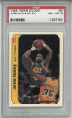 Adrian Dantley Utah Jazz 1986-87 Fleer Sticker Basketball Card #3- PSA Graded 8 Near Mint-Mint