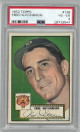Fred Hutchinson Detroit Tigers 1952 Topps Baseball Card #126- PSA Graded 4 Very Good-Excellent