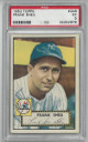 Frank Shea New York Yankees 1952 Topps Baseball Card #248- PSA Graded 5 Excellent