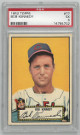 Bob Kennedy Cleveland Indians 1952 Topps Baseball Card #77- PSA Graded 5 Excellent