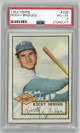 Rocky Bridges Brooklyn Dodgers 1952 Topps Baseball Card #239- PSA Graded 4 Very Good-Excellent