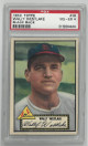 Wally Westlake St. Louis Cardinals 1952 Topps Baseball Card #38 (black back)- PSA Graded 4 Very Good-Excellent