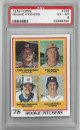 Jack Morris Detroit Tigers 1978 Topps Rookie Pitchers Baseball Card #703- PSA Graded 6 Excellent-Mint
