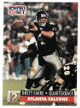 Brett Favre Atlanta Falcons 1991 Pro Set Football Rookie Card (RC) #762