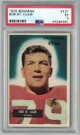 Bob St. Clair San Francisco 49ers 1955 Bowman Football Card #101- PSA Graded 5 Excellent (44364461)