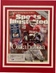 Adrian Peterson signed Oklahoma Sooners Sports Illustrated Full Magazine 10/11/04 Matted 11x14 #28- PSA Hologram #X59983