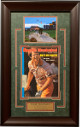Tom Watson signed Masters Sports Illustrated Magazine 4/18/77 w/ Photo Custom Framing 17x26- JSA LOA