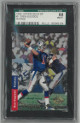 Drew Bledsoe New England Patriots 1993 SP Authentics Rookie Card (RC) #9- SGC Graded 88/8 NM-MT