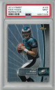 Nick Foles Philadelphia Eagles 2012 Topps Finest Refractor Rookie Card (RC) #103- PSA Graded 9 Mint