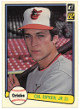 Cal Ripken, Jr. Baltimore Orioles 1982 Donruss Rookie Card (RC) #405