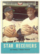 Elston Howard (Yankees)/Earl Battey (Twins) 1963 Topps Star Receivers Baseball Trading Card #306