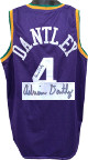 Adrian Dantley signed Purple TB Custom Stitched Pro Basketball Jersey HOF 2008- JSA Witnessed Hologram #WP583886
