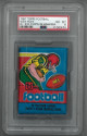 1981 Topps Football Wax Pack in 1979 Topps FB Wrapper ERROR- PSA Graded 8 NM-MT