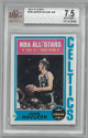 John Havlicek Boston Celtics All-Star 1974-75 Topps Basketball Card #100- BVG Beckett Graded 7.5 Near Mint+
