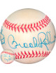 Brooks Robinson signed ROAL Rawlings Official American League Baseball To Rick My Best toned (Baltimore Orioles)