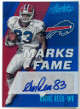 Andre Reed signed Buffalo Bills 2017 Panini Absolute Football Card #MF-AR- LTD 70/83