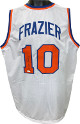Walt Frazier signed White TB Custom Stitched Pro Basketball Jersey- JSA Witnessed Hologram