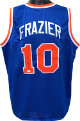Walt Frazier signed Blue TB Custom Stitched Pro Basketball Jersey- JSA Witnessed Hologram