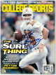 Peyton Manning signed Tennessee Volunteers College Sports Full Magazine August 1996 (No Label)- Beckett/BAS Hologram #Q26277