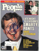 David Letterman signed People Full Magazine 7/14/1986- Beckett/BAS Hologram #Q75378 (Late Night Talk Show Host)