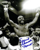 Earnie Shavers signed Boxing 8x10 Photo w/ Peace- JSA Hologram